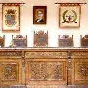 Mobiliario antiguo Salón de Actos