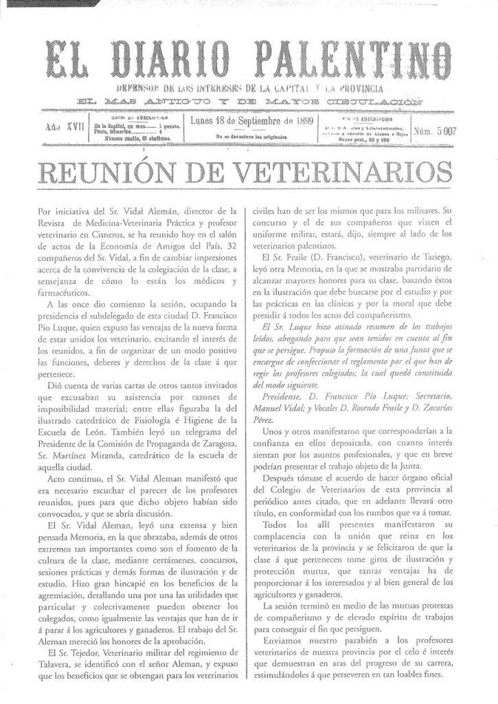 Historia Colvepa - Diario Palentino