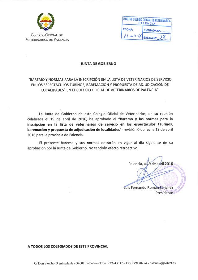 Normativa Espectáculos Taurinos - Colvepa